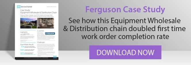 Ferguson Case Study: See how this wholesale/distribution chain doubled first time work order completion rate