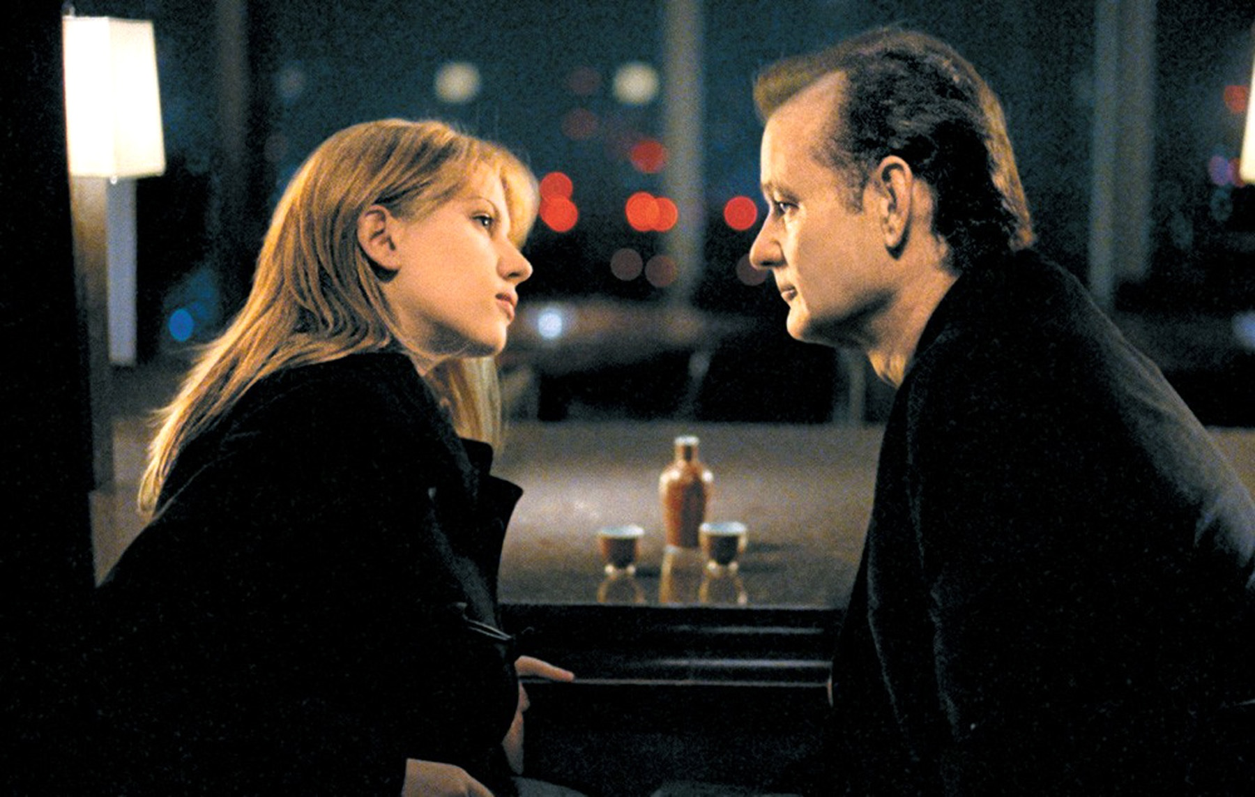 Lost in Translation: Scarlett Johansson and Bill Murray