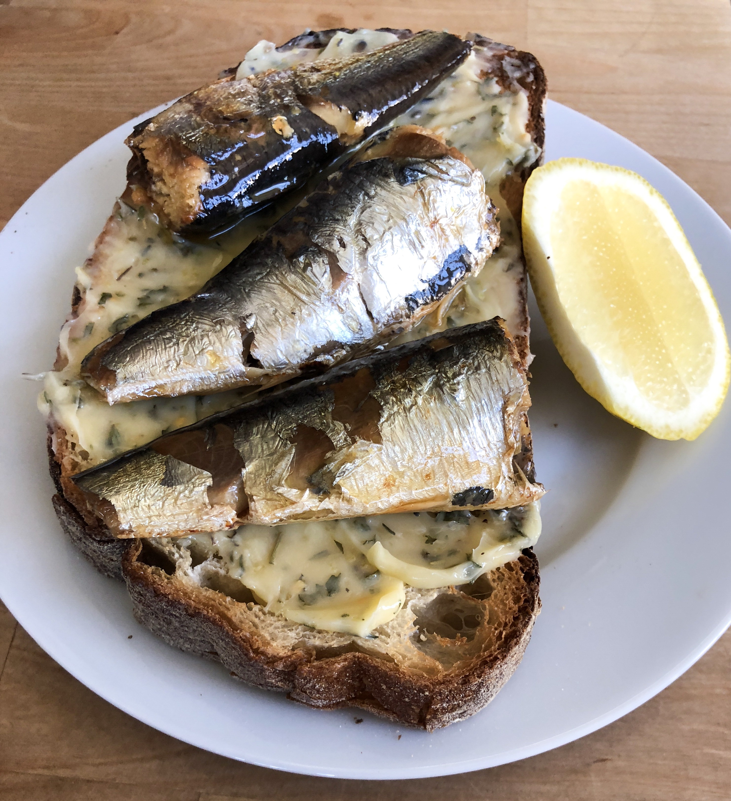 Summer Sardine Tartine