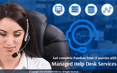IT  Management should not be complicated - get Managed Help Desk Services