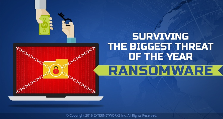 Surviving the biggest threat of the year - Ransomware