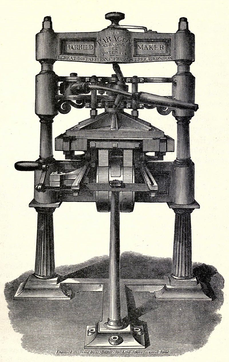 800px-Printing_Press,_1829_woodcut_by_George_Baxter