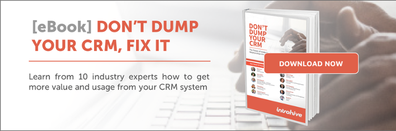 7 must know crm adoption statistics for a successful crm introhive ebook dont dump your crm fandeluxe