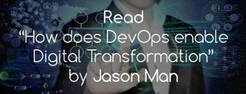 How does DevOps enable Digital Transformation?