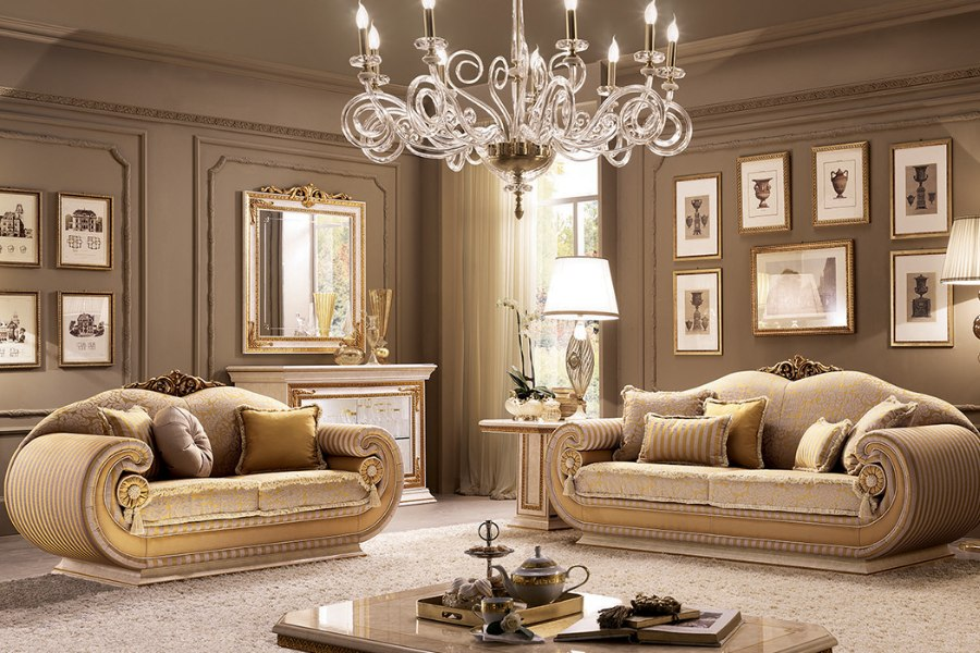 Classic Italian living room style: how to decorate a space ...