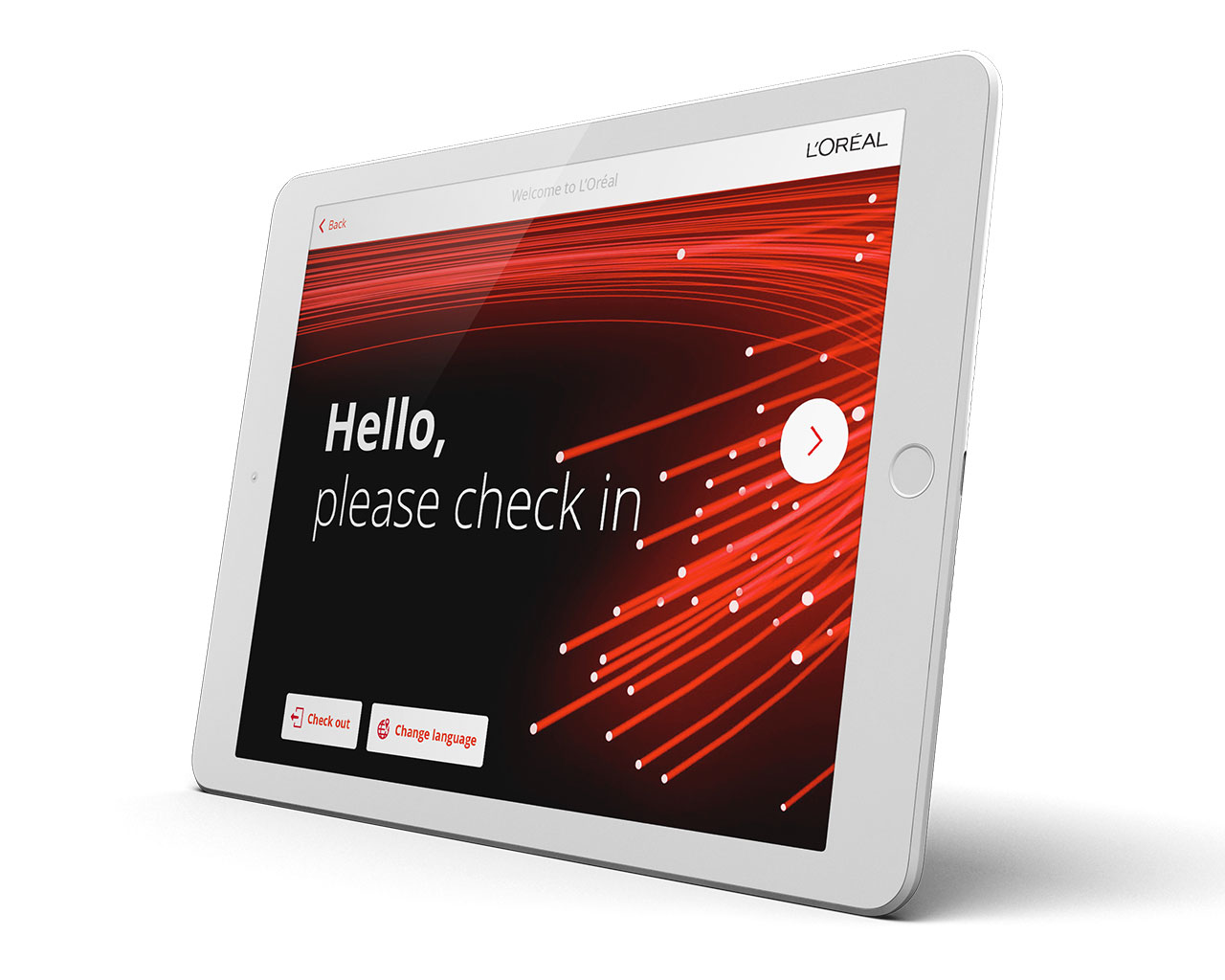 Visitor Management Software With Ipad Check In System