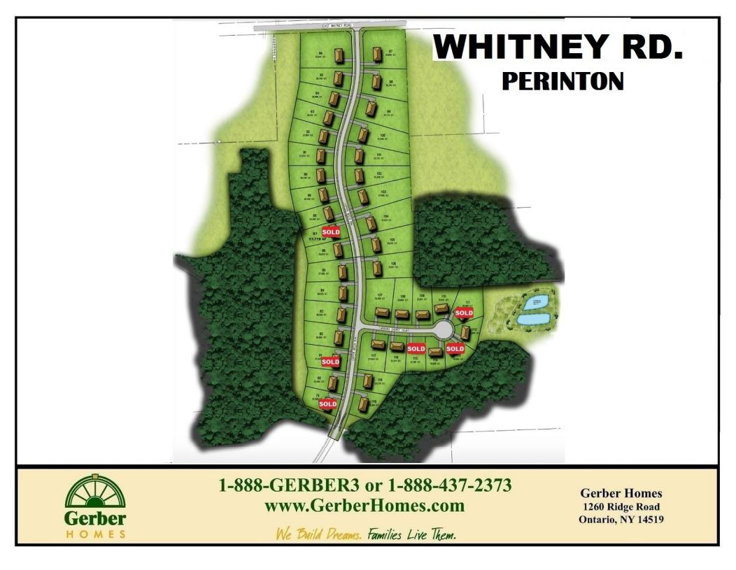 whiting road home sites