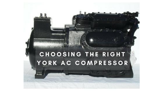 Choosing the Right York AC Compressor
