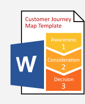 How To Create A Customer Journey Map Tools Template - Journey map template