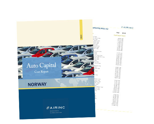 Auto Capital Cost Reports