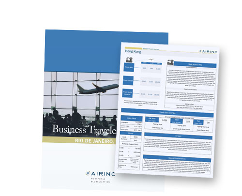 Business Traveler Briefings