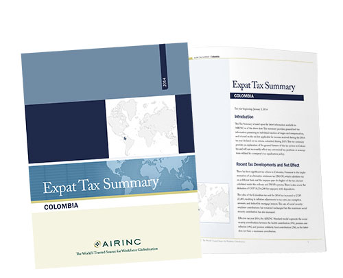 Expat Tax Summaries