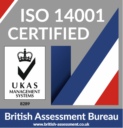 ISO 14001 certification logo