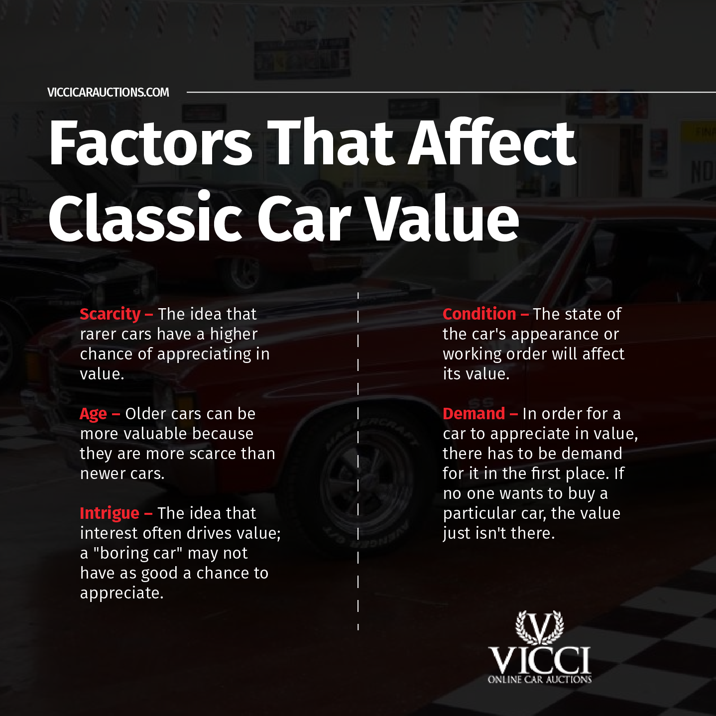 What to Look for When Buying a Classic Car