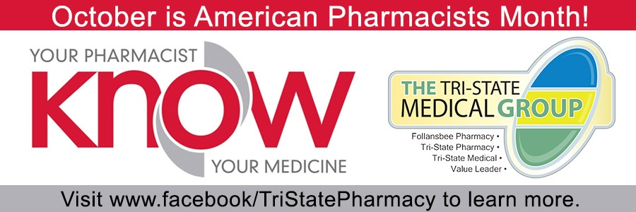Tri State Medical Group Pharmacists Month advertisement