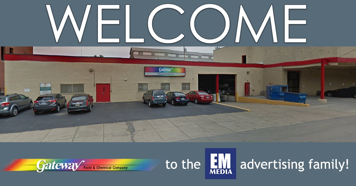 Welcome Gateway Paints