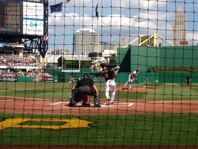 PNC Park Behind Home Plate