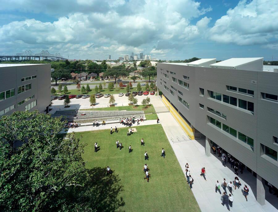 Landry High School);
