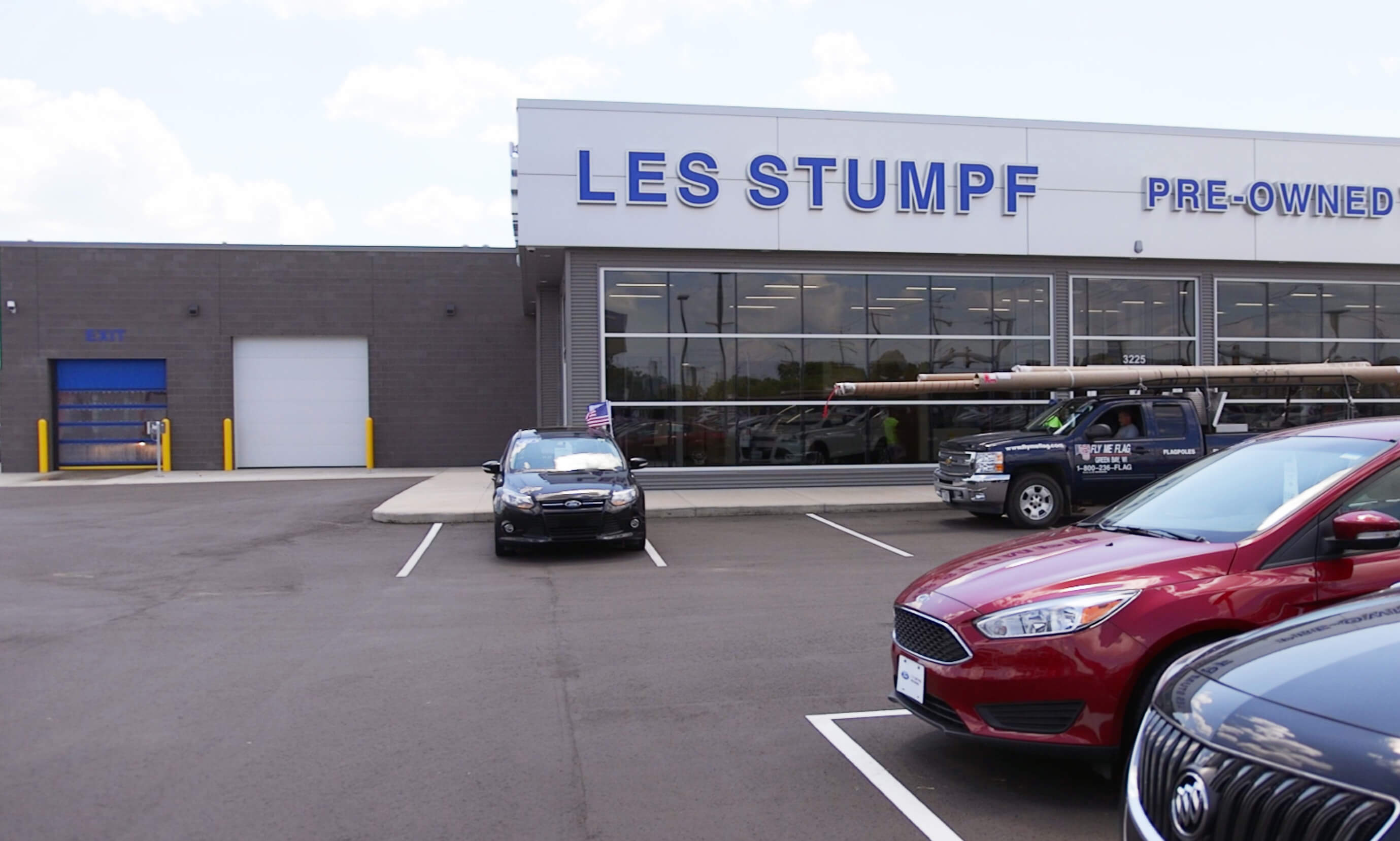 Insultech at Les Stumpf Ford Dealership);