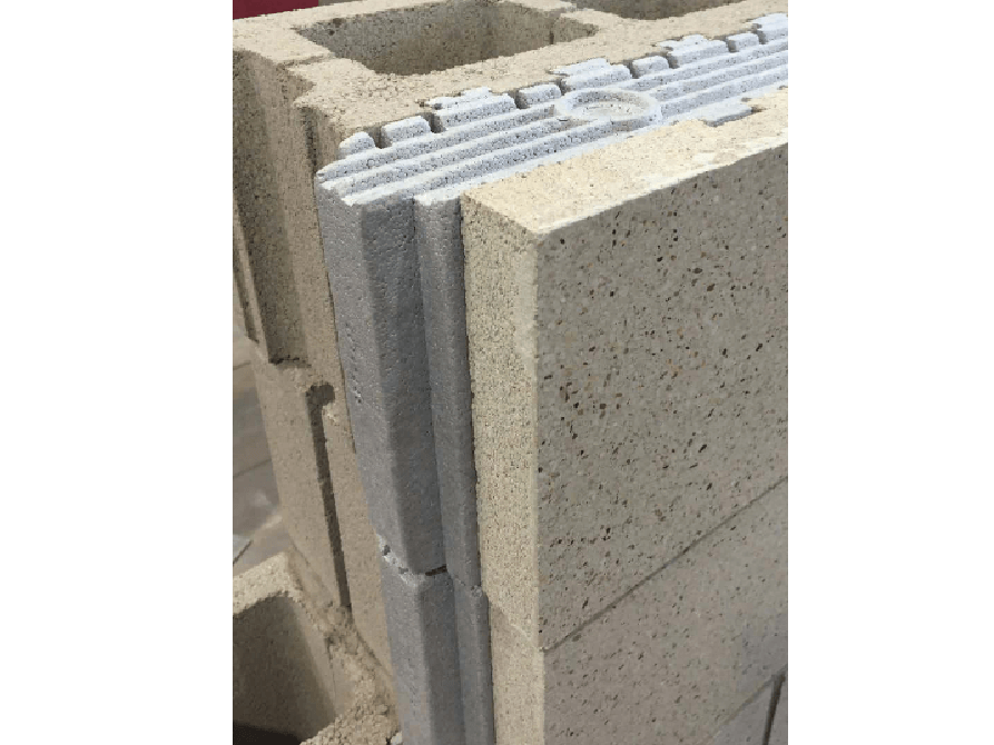 Echelon Insultech Blocks used at a Ford Dealership);