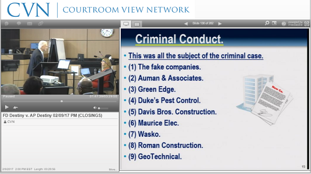 Courtroom View Network (CVN) – Watch trial and courtroom