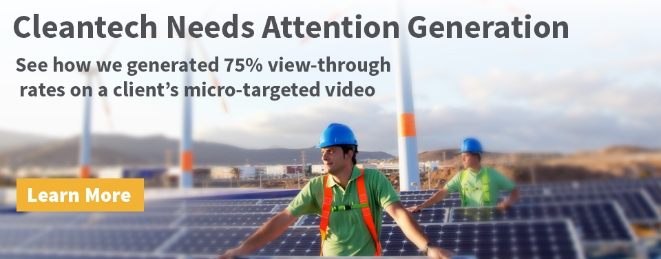 cleantech public relations. delivering attention generation for clients in renewable energy.