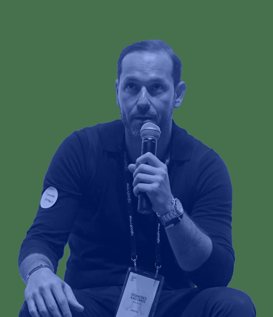 Diomedes Kastanis, Head of IoT, Singtel