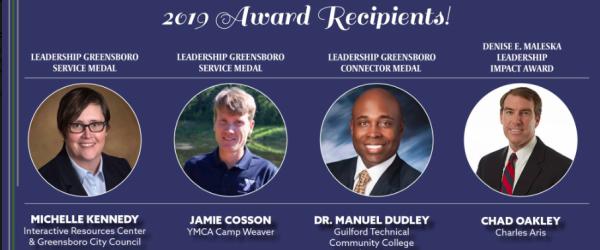 Charles Aris CEO Chad Oakley earns Leadership Impact Award