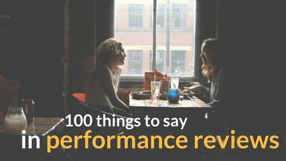 100 Performance Review Phrases for Better Employee Feedback – Performance Review