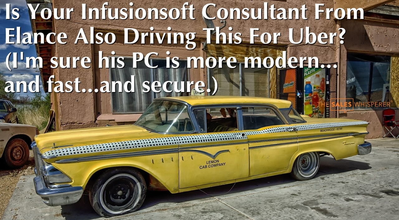 Why You Should Hire a $25 Infusionsoft Consultant On Elance