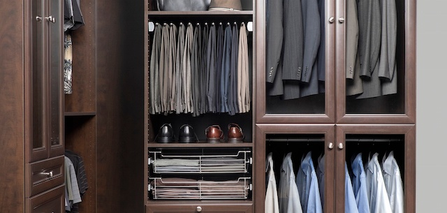Do It Yourself Home Design: Closet Organizer Accessories Just For Men