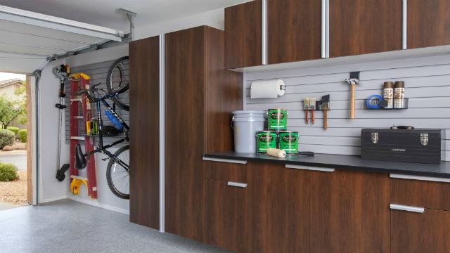 Garage Wall Storage Systems Gridwall Slatwall Workbench