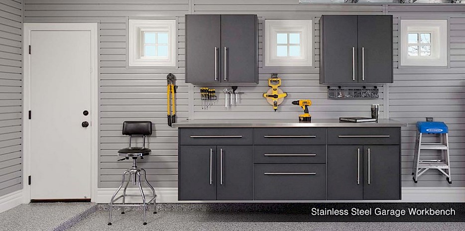 garage wall storage systems gridwall slatwall workbench. Black Bedroom Furniture Sets. Home Design Ideas