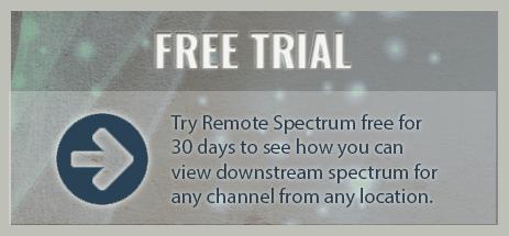 Remote Spectrum Downstream Spectrum Analyzer Software | ZCorum