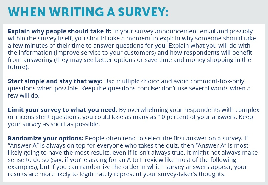 how to write survey questions Trying to write great survey questions check out our 7 mistakes to avoid and make your next project a success.