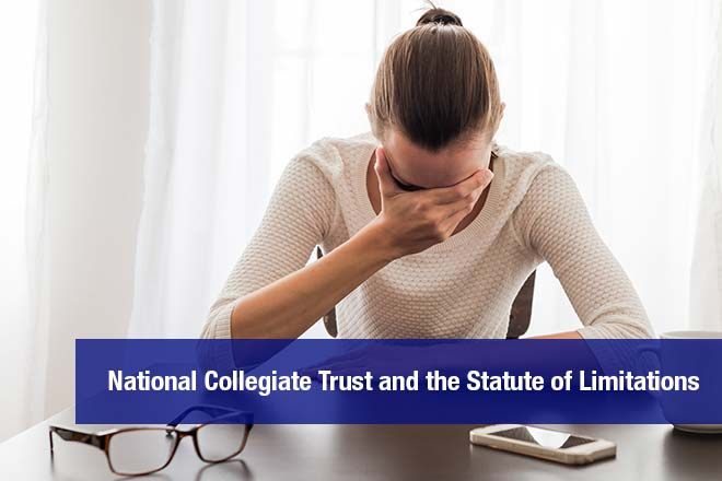 The Statute of Limitations on National Collegiate Trust