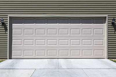 Standard fiberglass garage door
