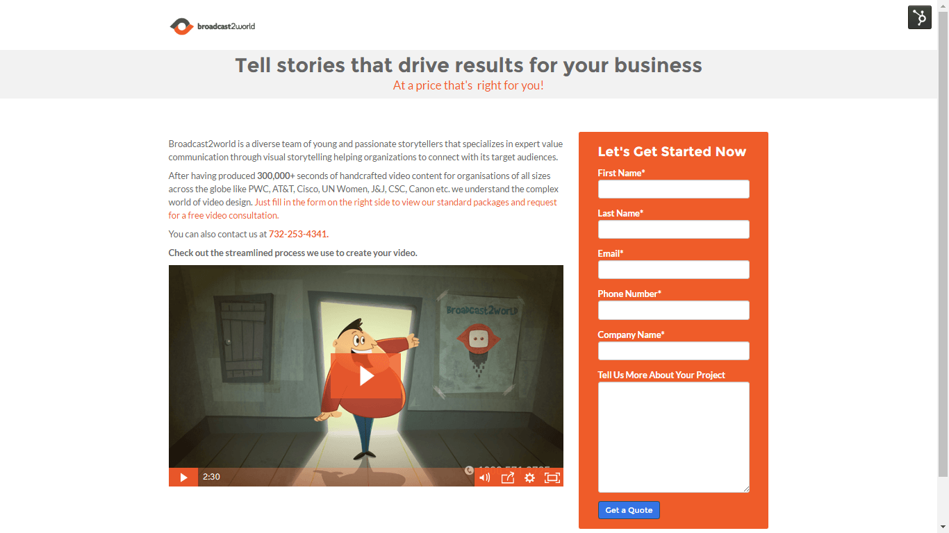 Tell stories that drive results for your business