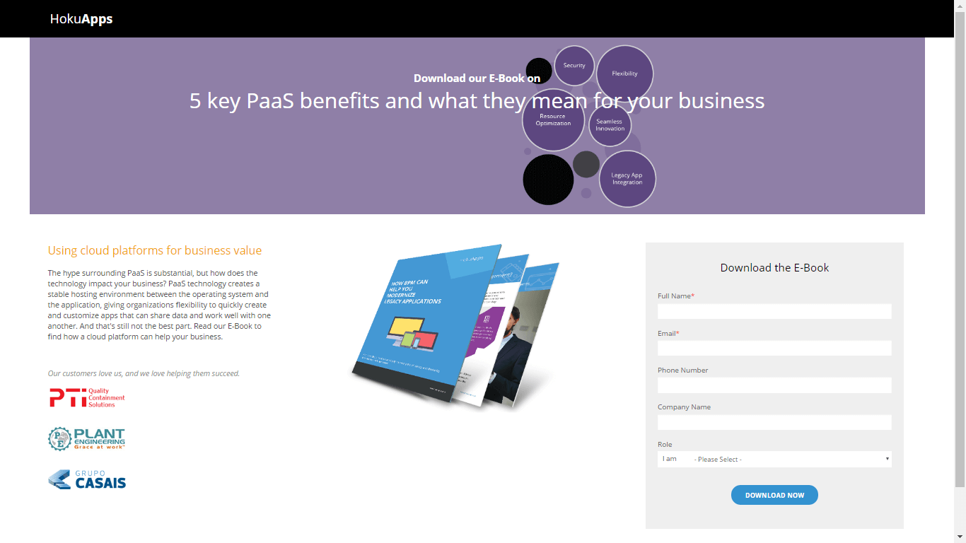 5 key PaaS benefits and what they mean for your business