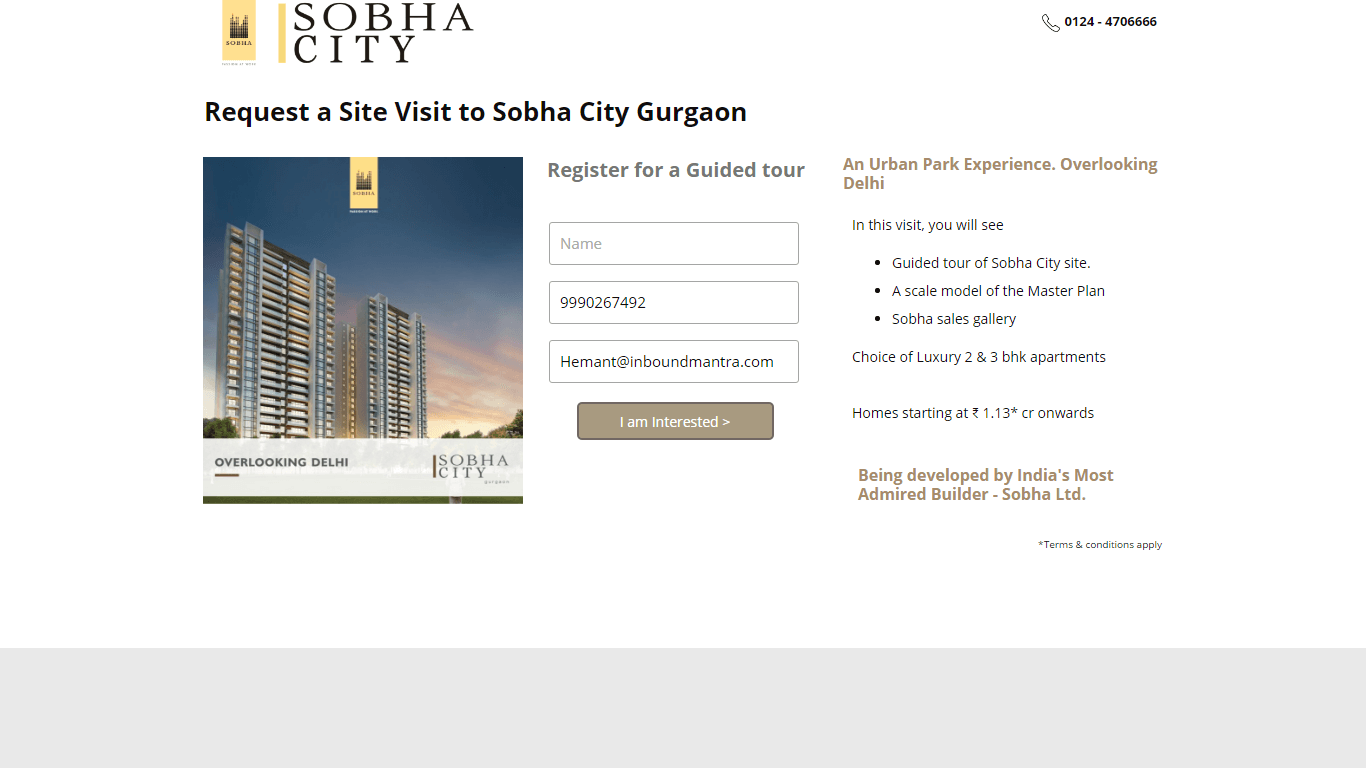 Visit Sobha City | Projects in Gurgaon