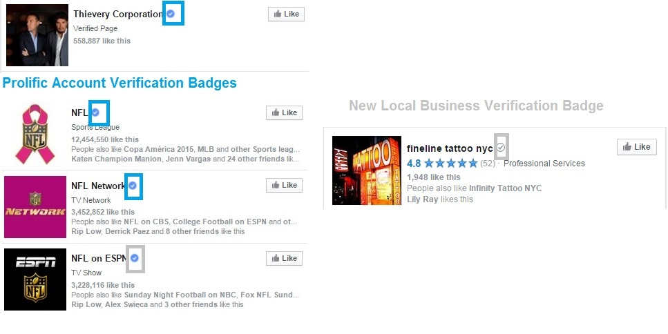 Facebook Introduces Verification Badges for Local Businesses