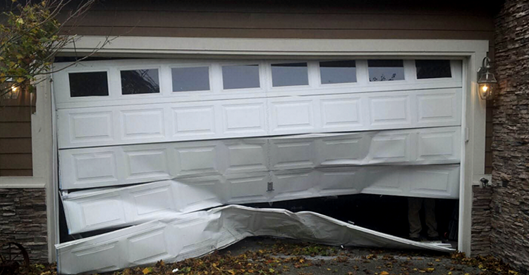 is my garage door broken beyond repair