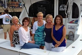 ladies at the helm