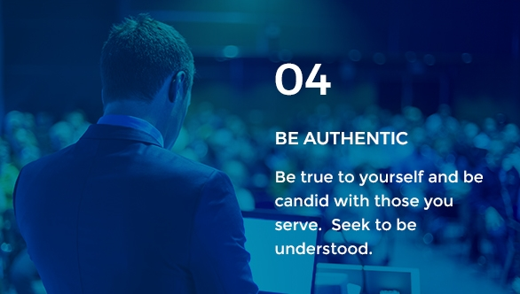 Gravity Investment's core value of being authentic.