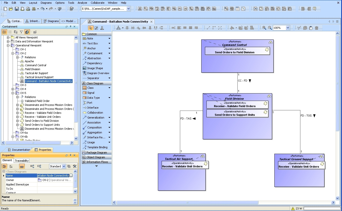Interoperability between MagicDraw and System Architect