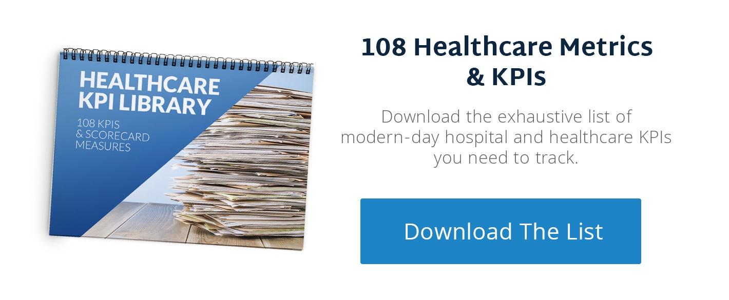 25 Healthcare Metrics & KPIs To Begin Tracking Today