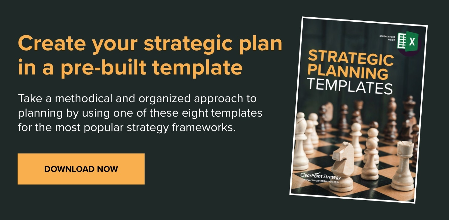 Download Now: Strategic Planning Templates