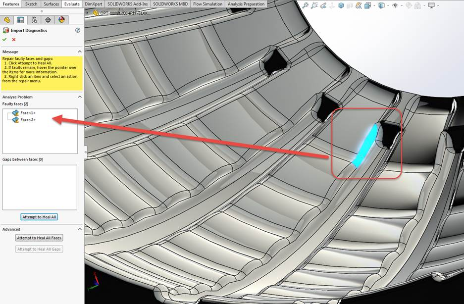 3 Common SOLIDWORKS Import Geometry Problems (And Fixes For