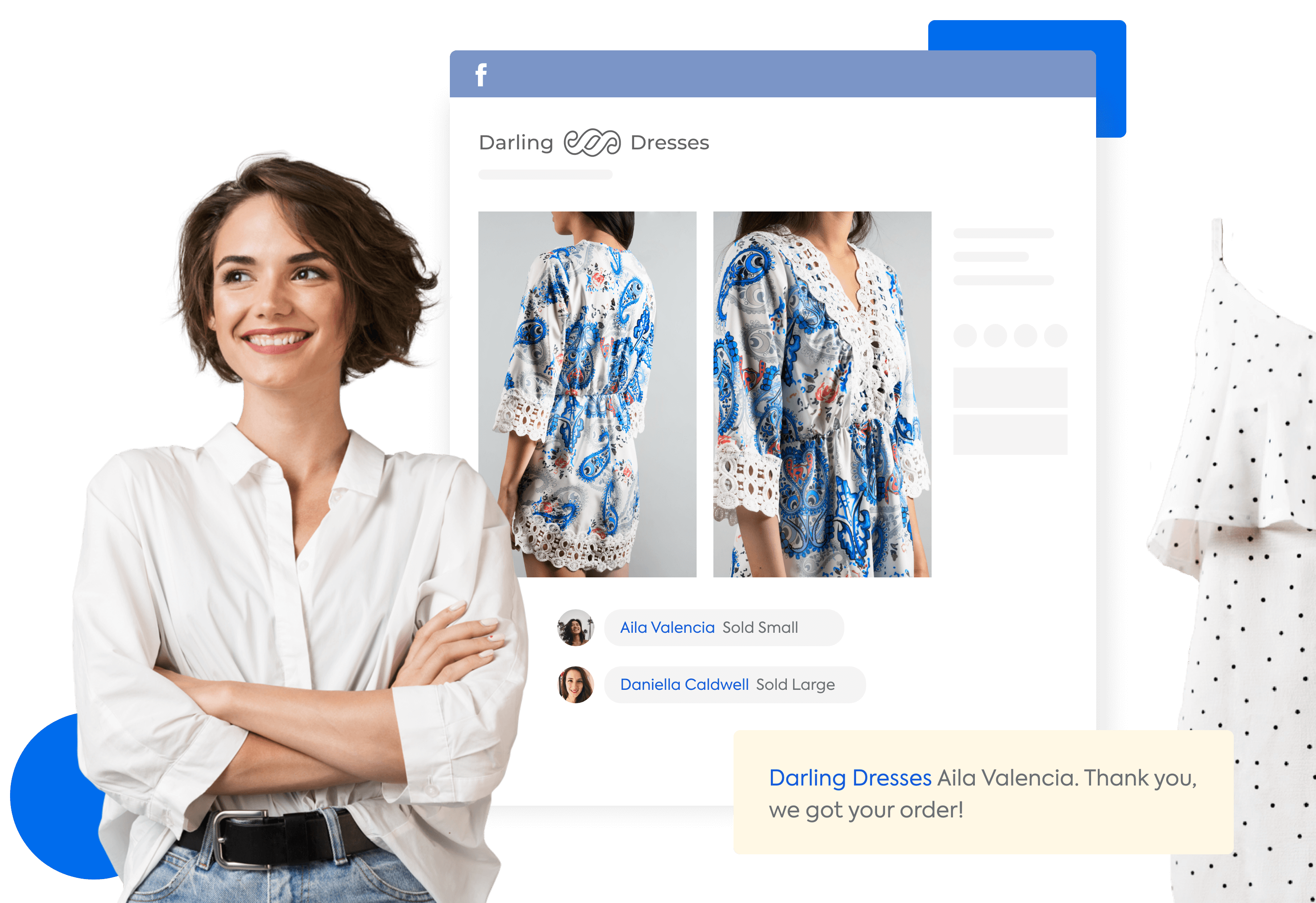 Sell on Facebook and Instagram with automated comment selling
