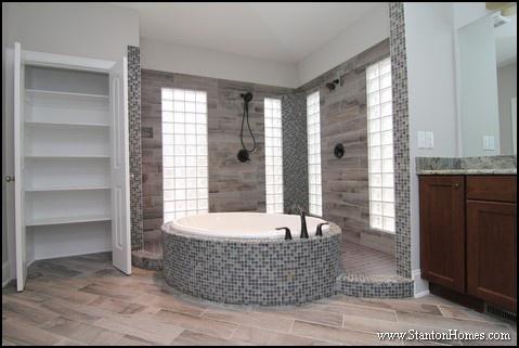 blue tile bathroom ideas for nc new homes